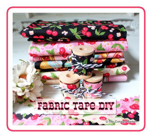Fabric Tape DIY #fabrictape