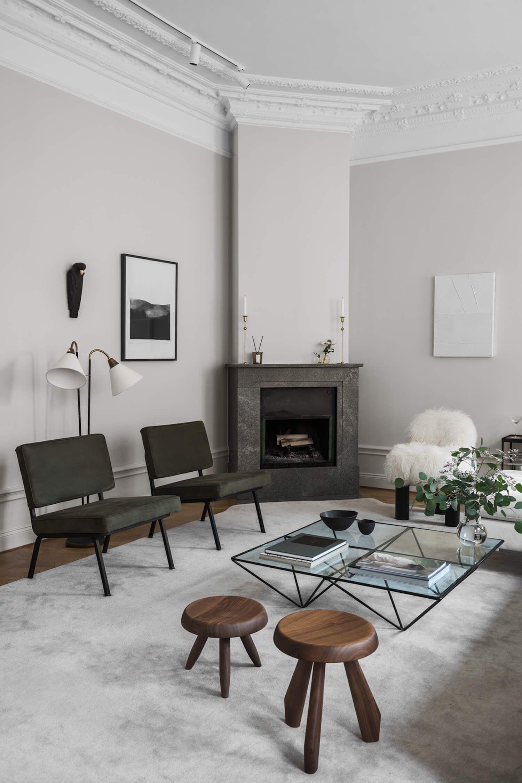 Photo of The Home of Interior Designer Louise Liljencrantz | Interior…