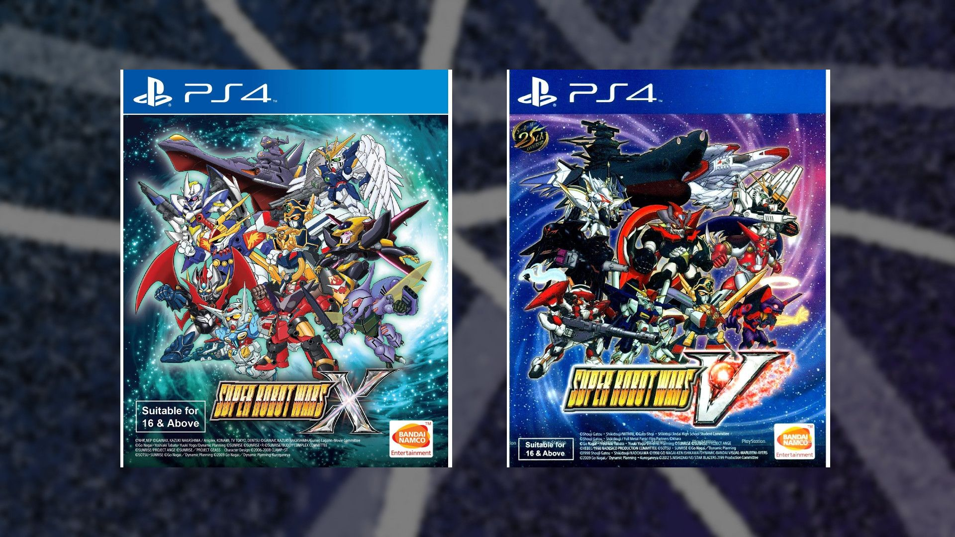 Super Robot Wars X and Super Robot Wars V are Coming to