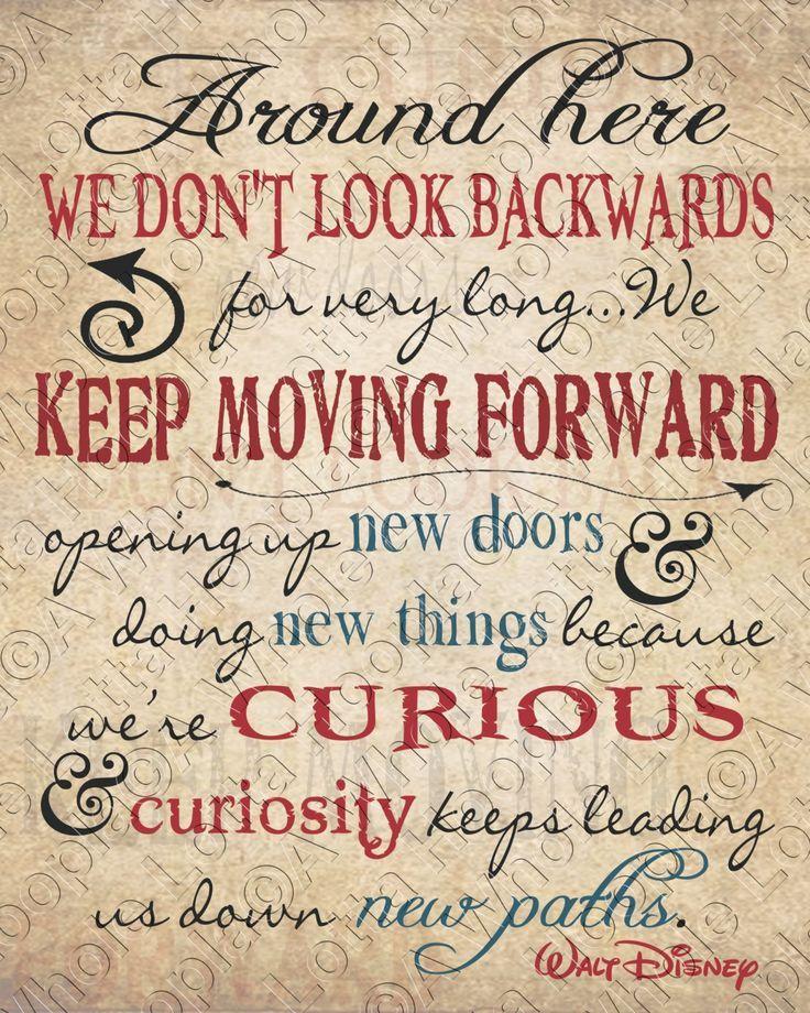 Walt Disney Quotes Keep Moving Forward Walt Disney Keep Moving