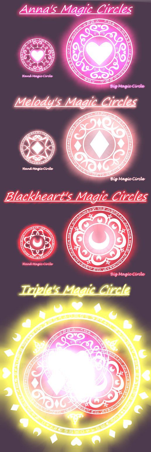 .: Magic circles :. by Anna-The-Cherry on DeviantArt