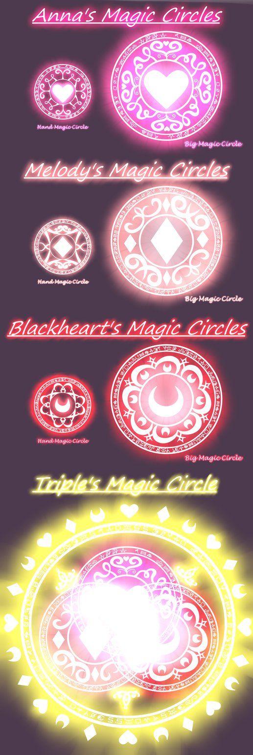 .: Magic circles :. by Anna-The-Cherry on DeviantArt