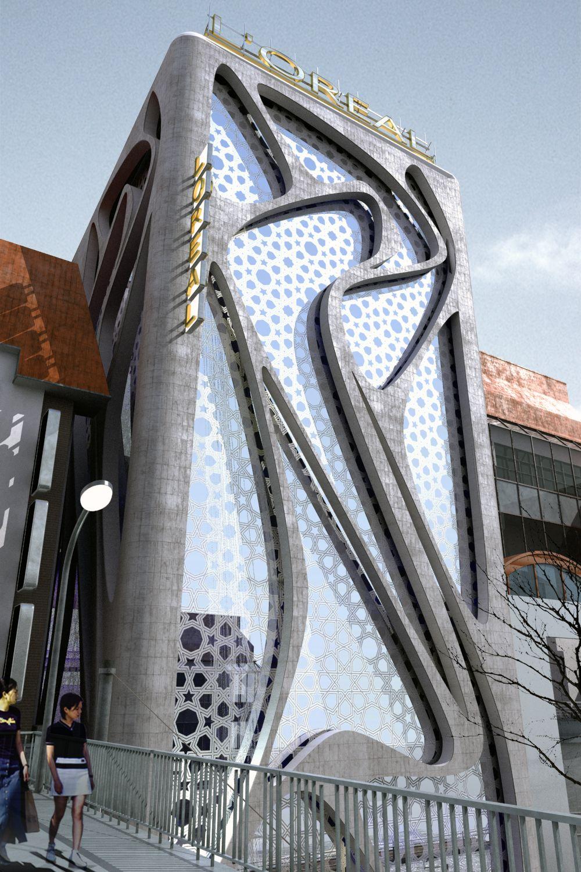 New L'Oreal Office Building By IAMZ Design Studio, Modern