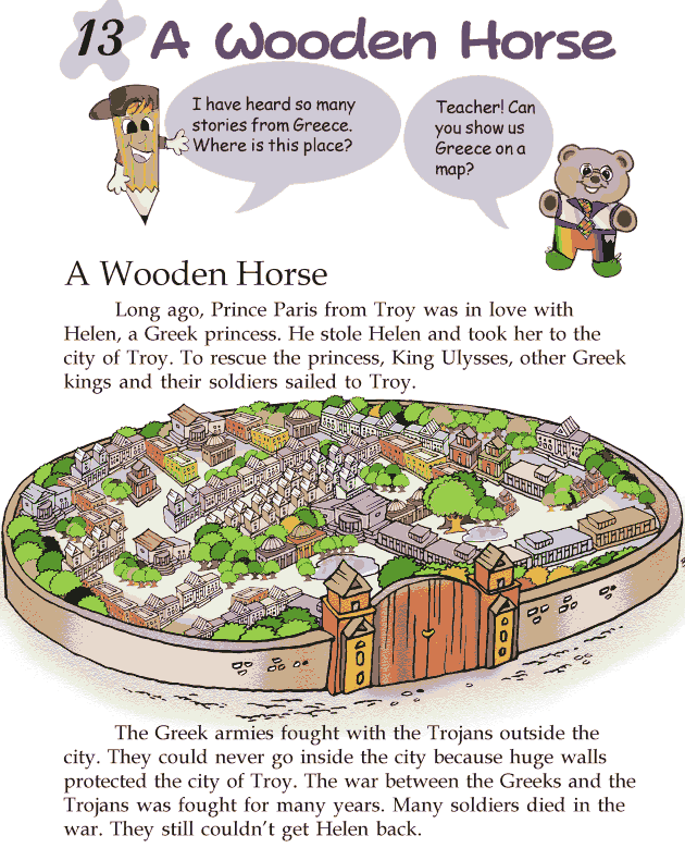 grade 2 reading lesson 13 myths and legends a wooden horse english reading grade 2 lessons 1. Black Bedroom Furniture Sets. Home Design Ideas