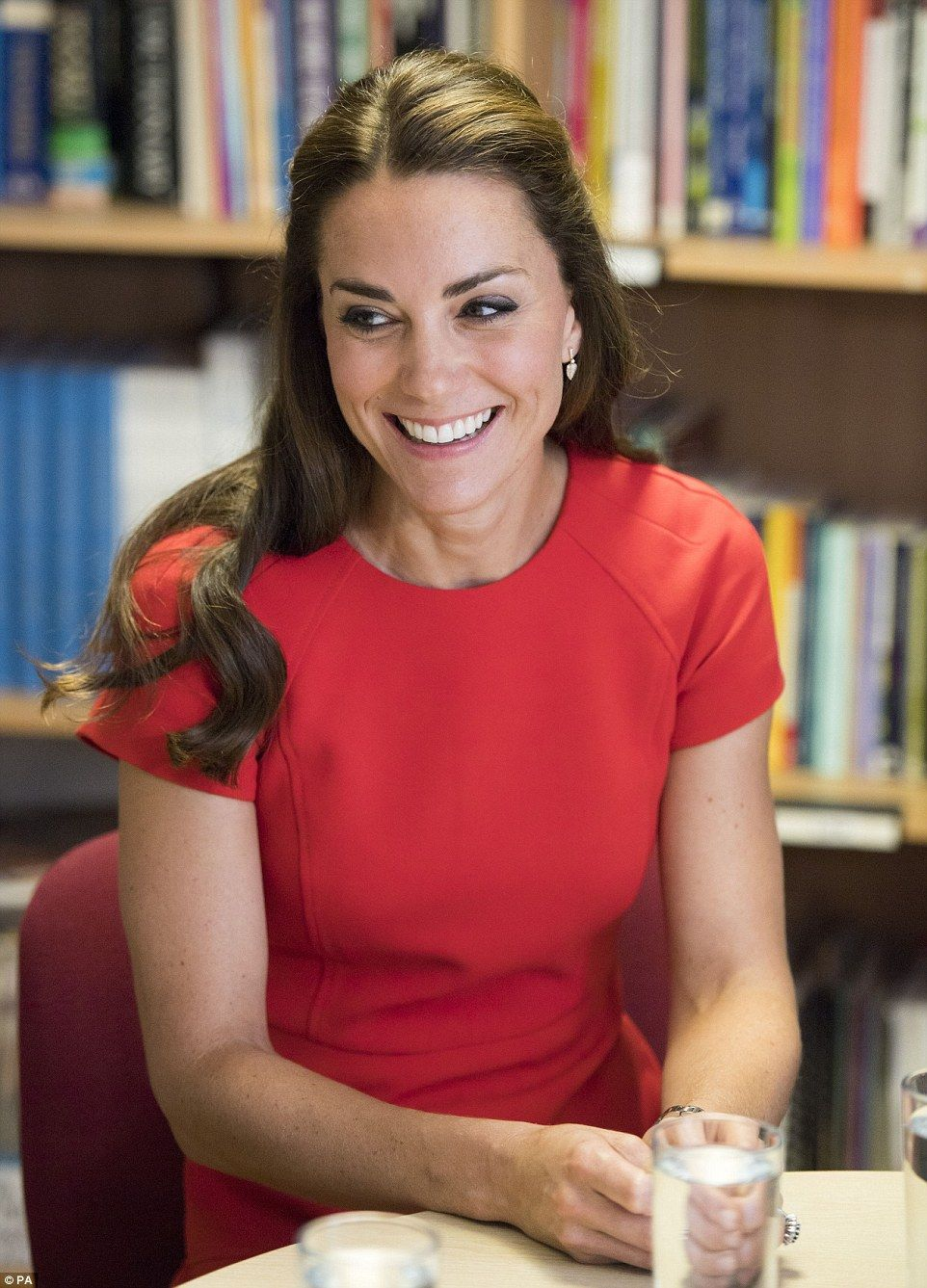 During her visit Kate told the charity's chief executive Sarah Brennan…