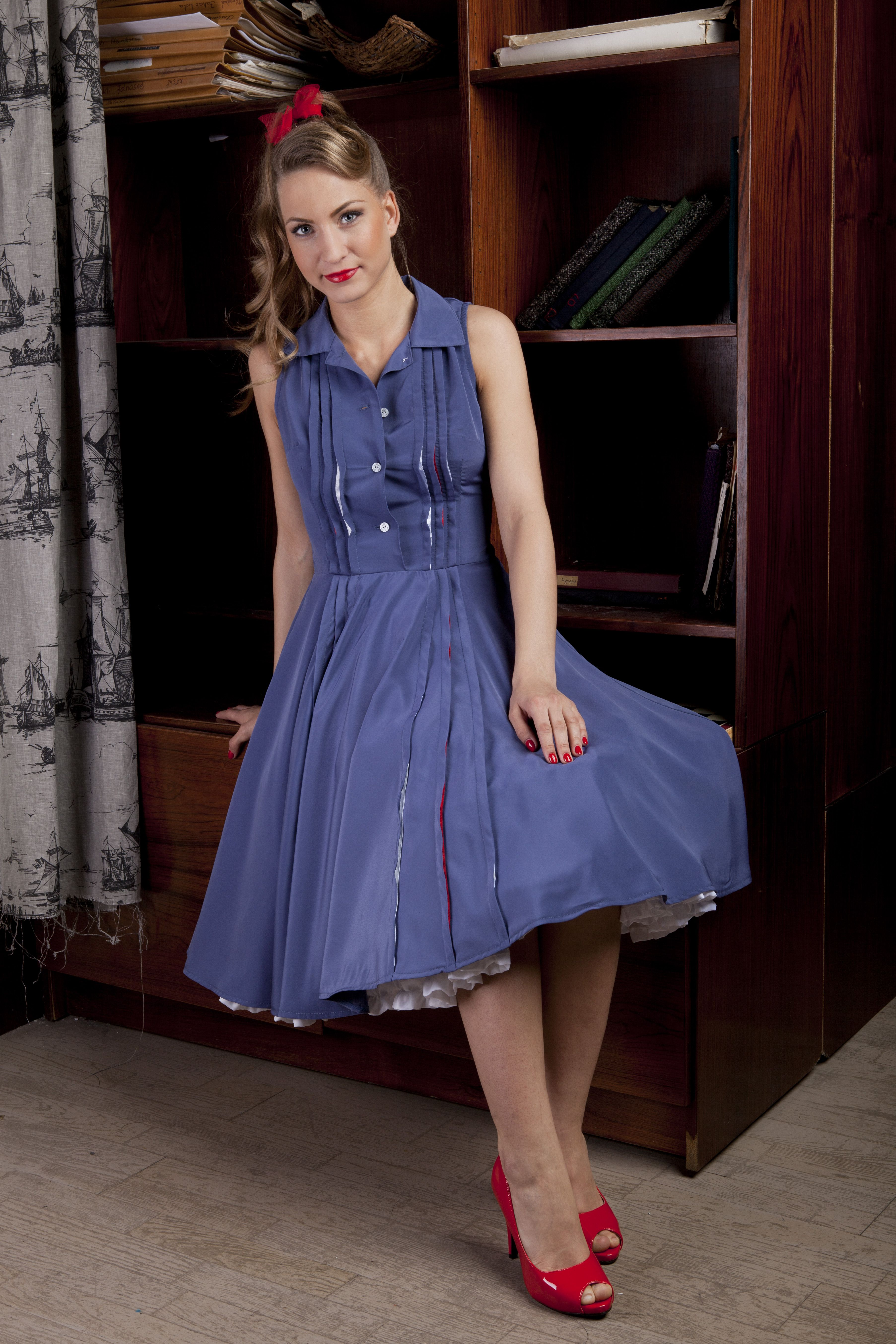 cry baby Alison good girl dress rockabilly dress fifites style ...