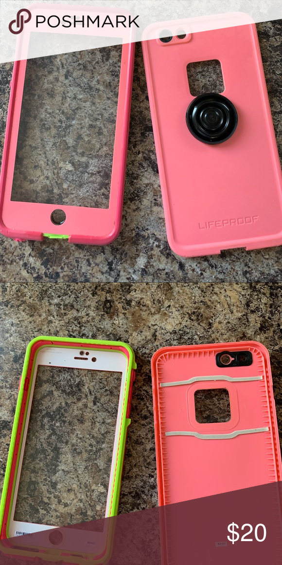 big sale e2547 0b158 life proof case for 6s plus gently used. case has warranty ...