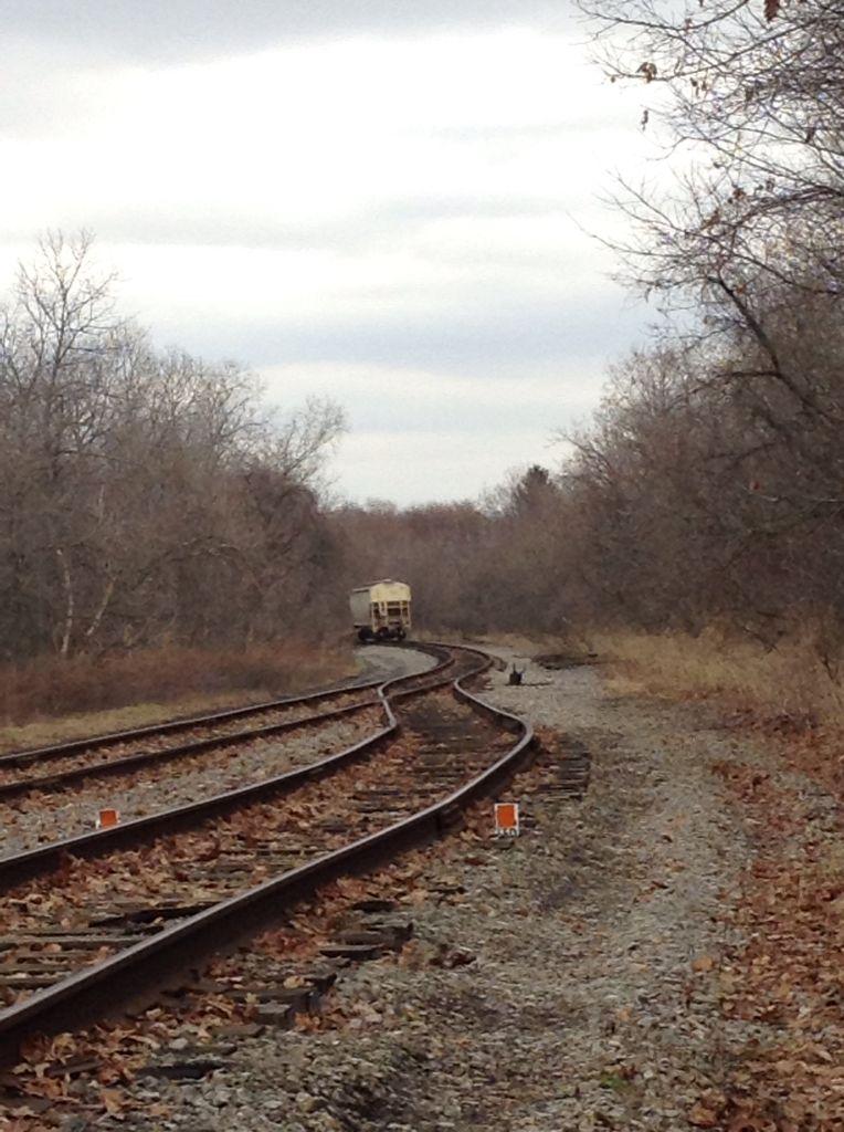 Abandon train tracks.