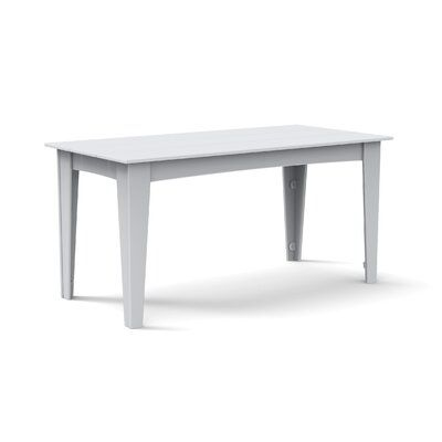 Loll Designs Alfresco Plastic Dining Table Color Driftwood Table