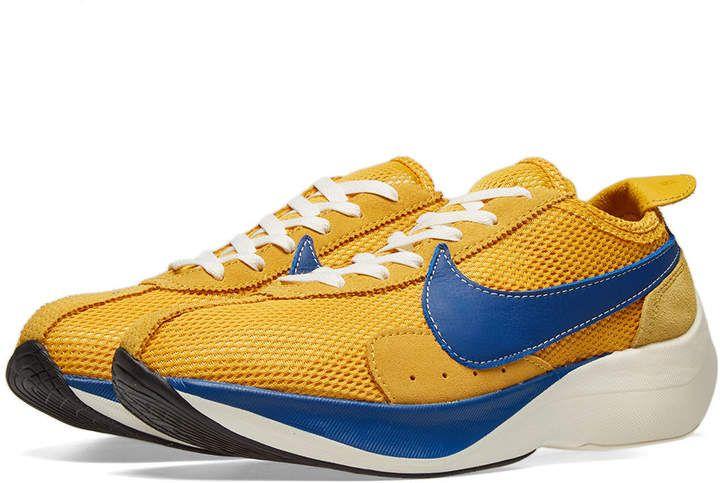 Nike Moon Racer Qs Sneakers Men Fashion Sneakers Yellow Sneakers