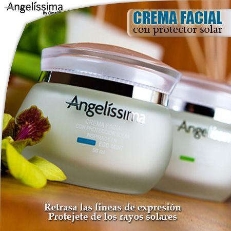 Crema Facial Con Protector Solar Angelissima Con Imagenes