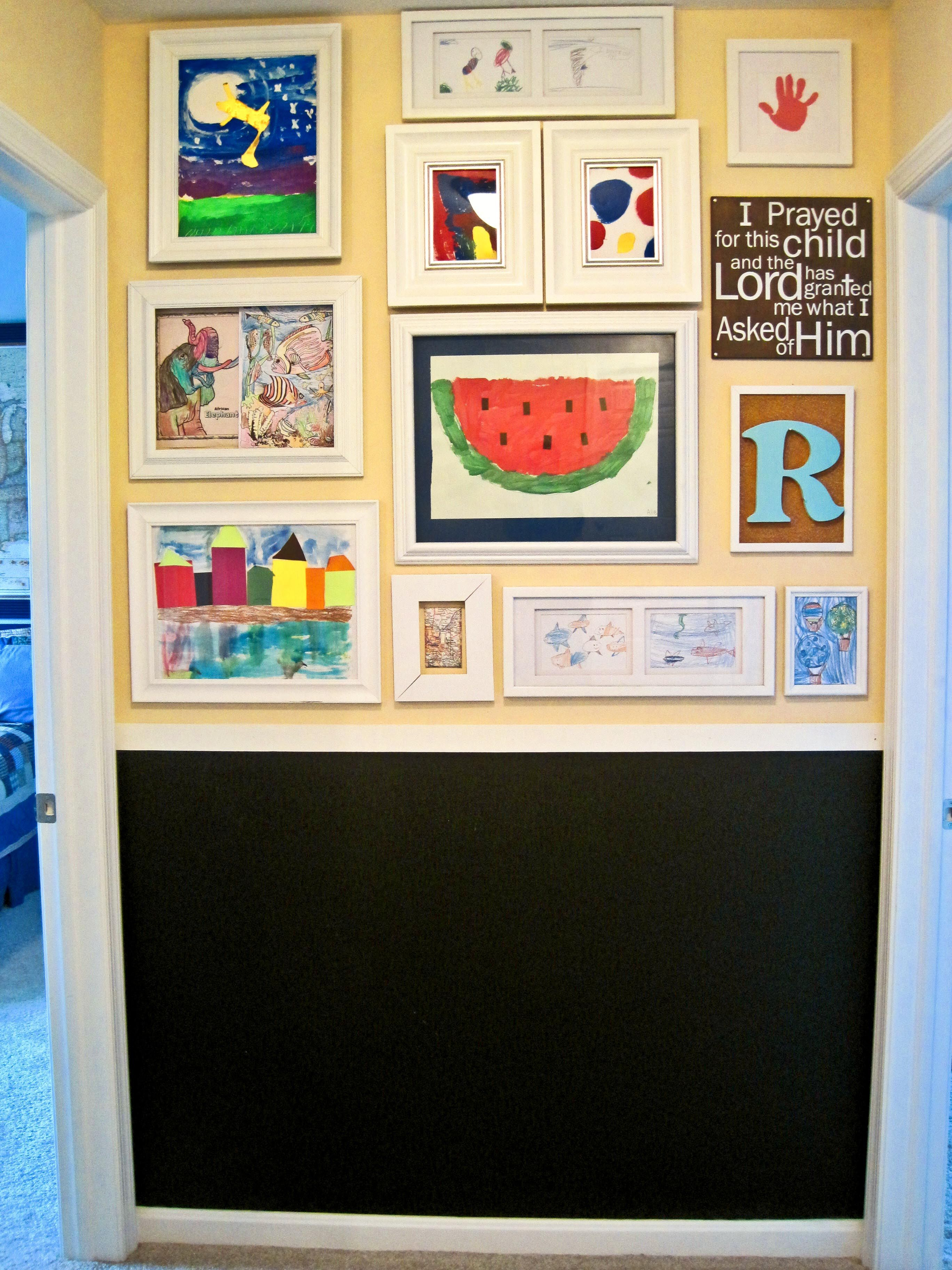What to do with all of those little pieces of artwork ... I bought ...