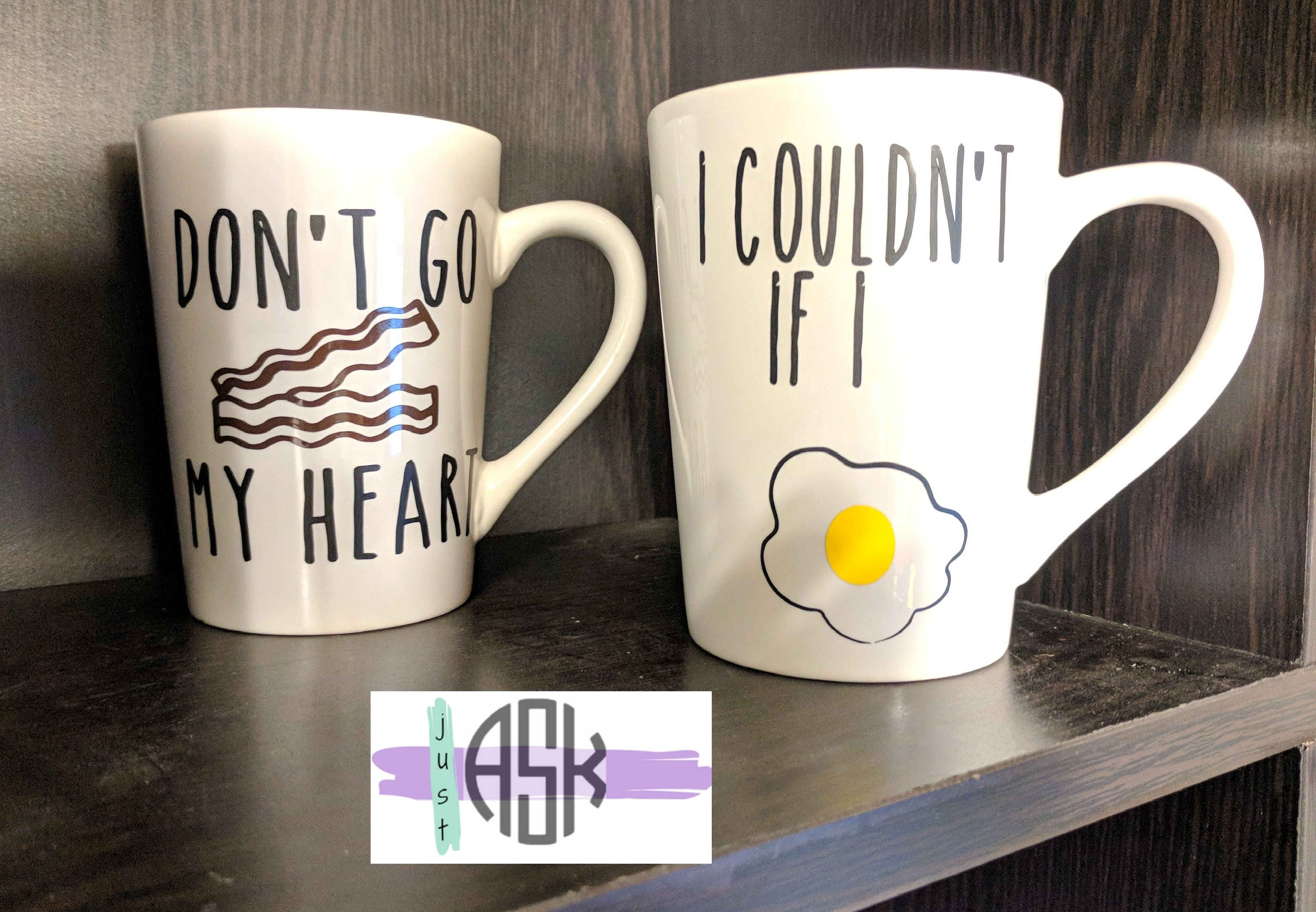 cute matching mugs! Unique items products, Etsy finds, Mugs