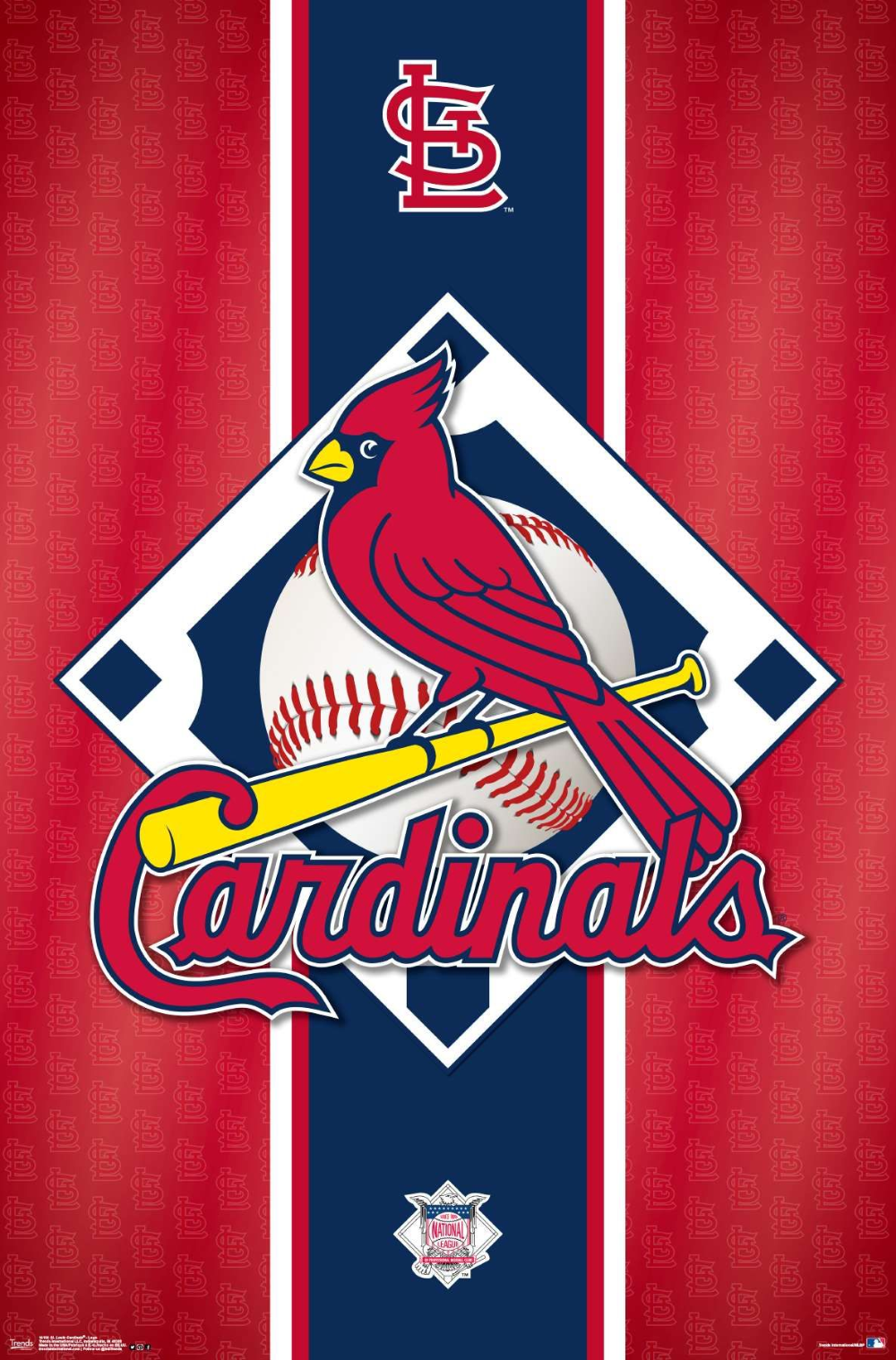 Mlb St Louis Cardinals Logo In 2020 St Louis Cardinals Baseball St Louis Cardinals St Louis Cardinals Poster