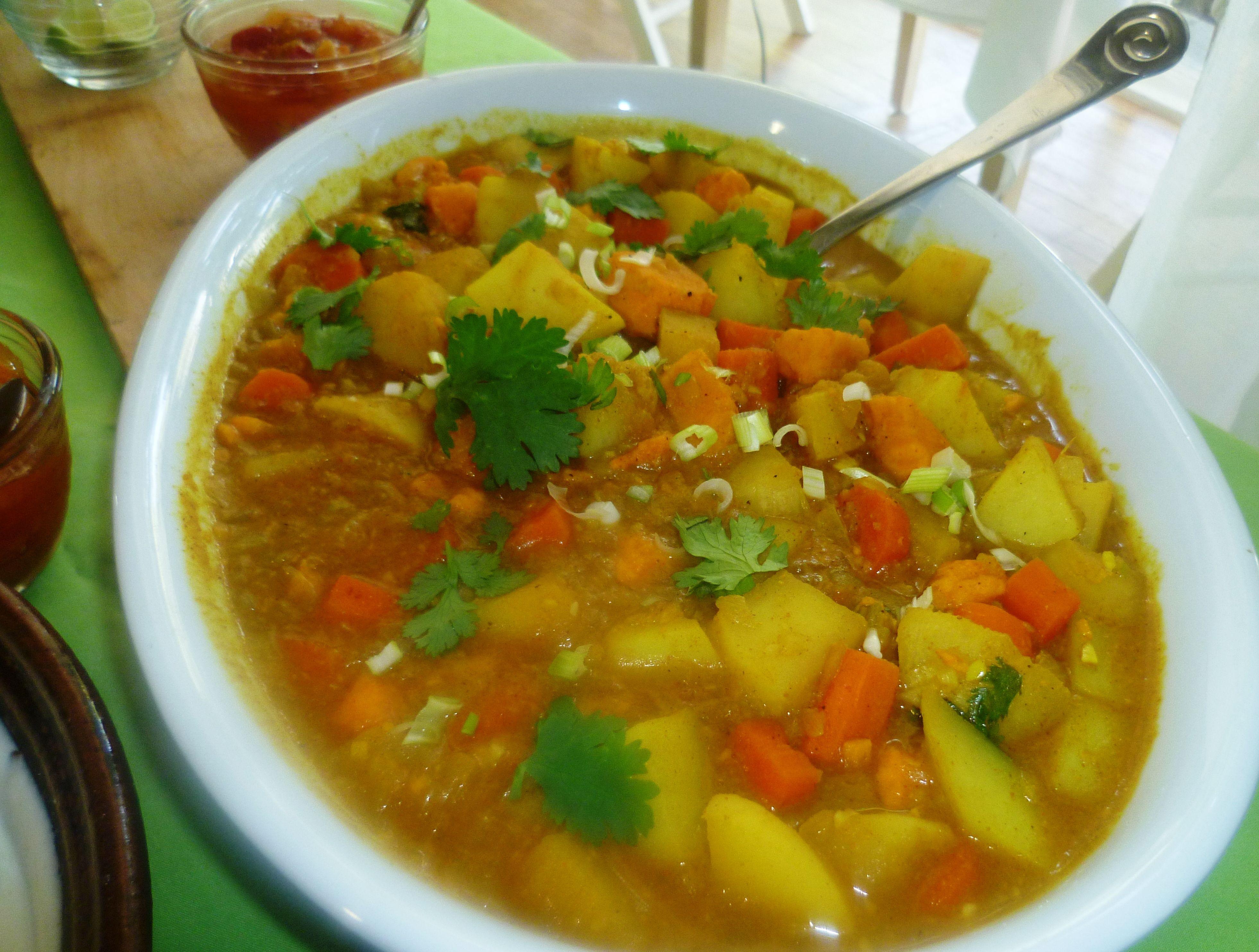 Curried Root Vegetables