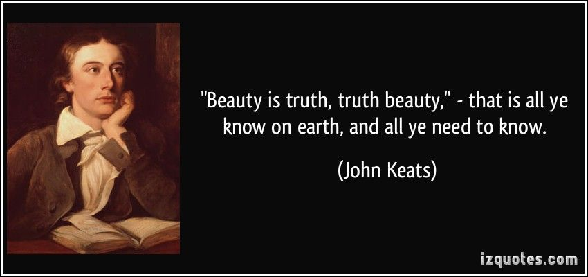 truth is beauty and beauty is truth essay