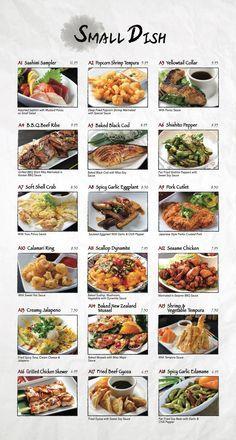 Menu Fusion Sushi Japanese Restaurant Manhattan Beach And Long