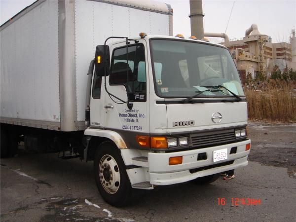 2001 Hino Fe2620 3truck For Sale In Saugus Trucks For Sale