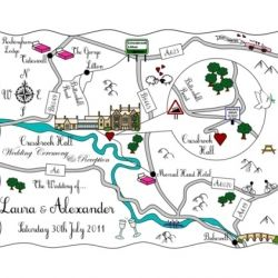 Save the dates in style - Cutest little Maps