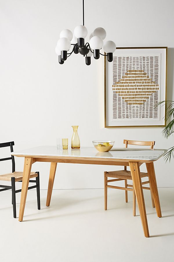 Anders Oak Dining Table Dining Table Marble Oak Dining Table