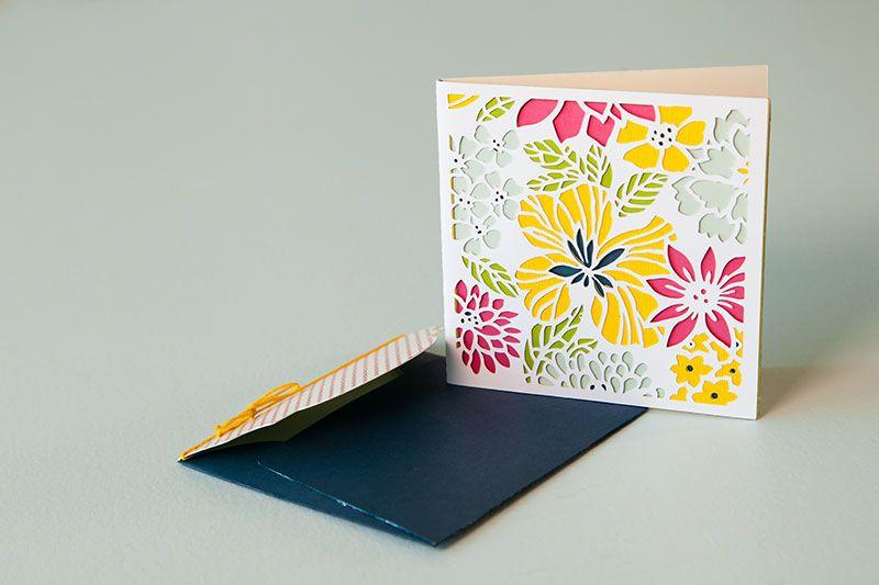 Make Mom S Day Cricut Cricut Explore Cards Floral Cards Cricut Crafts