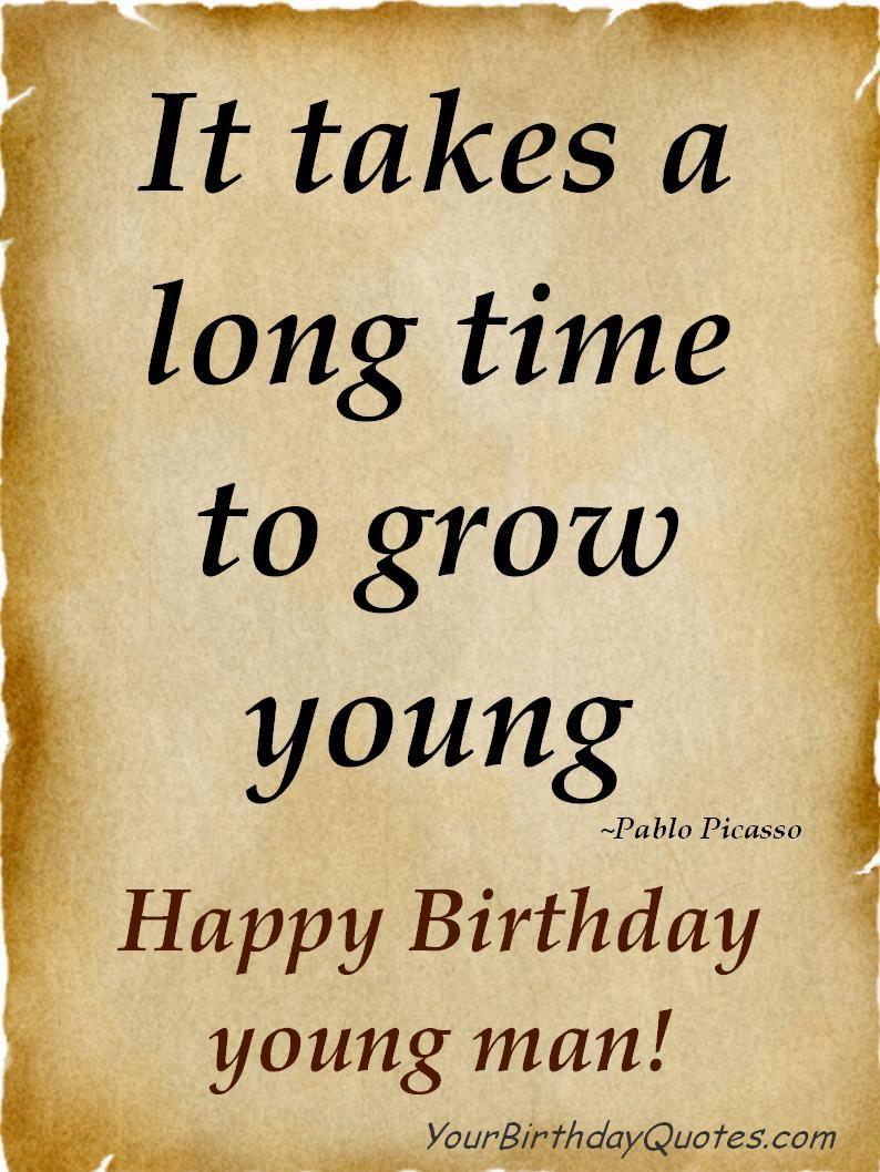 birthdayquoteswishesmale Happy birthday man, Friend