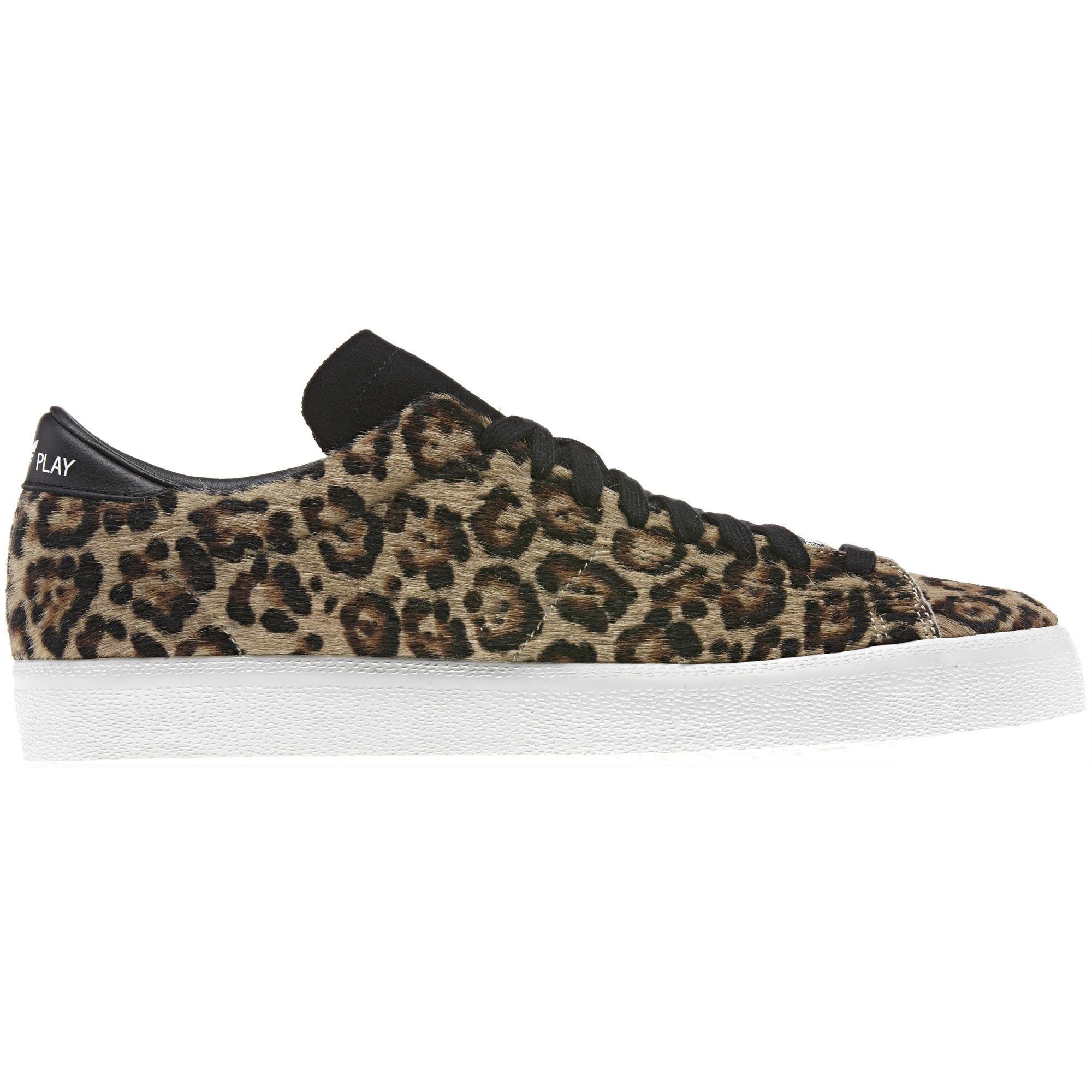 Furry Leopard Adidas <3