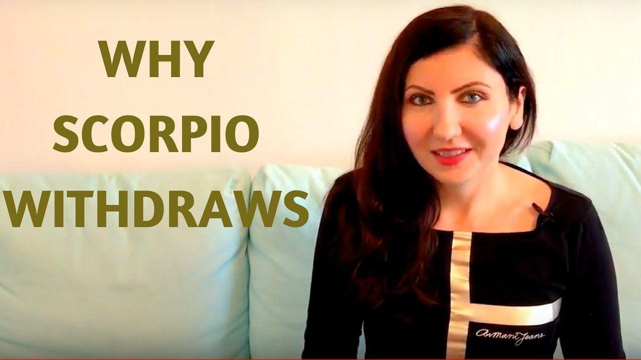 Scorpios withdrawal   Scorpio, Personality traits