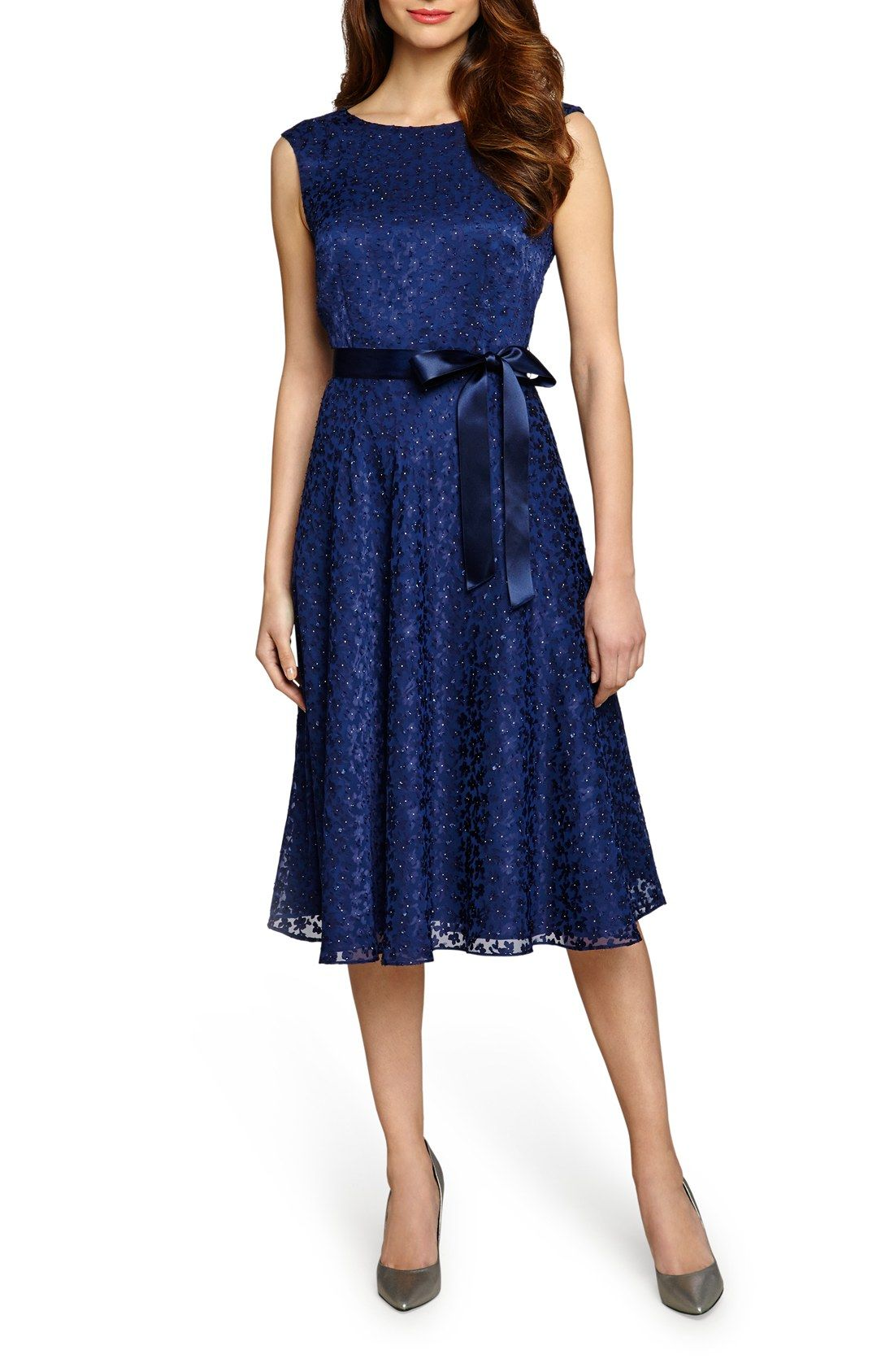 Blue Lace Overlay Dress Nordstrom Carley Connellan