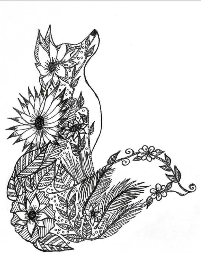 Cute Fox Coloring Pages Ideas For Kids Free Coloring Sheets Fox Coloring Page Animal Coloring Pages Mandala Coloring Pages
