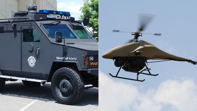 Police Drone Crashes Into Police Police Drone Aerial Drone