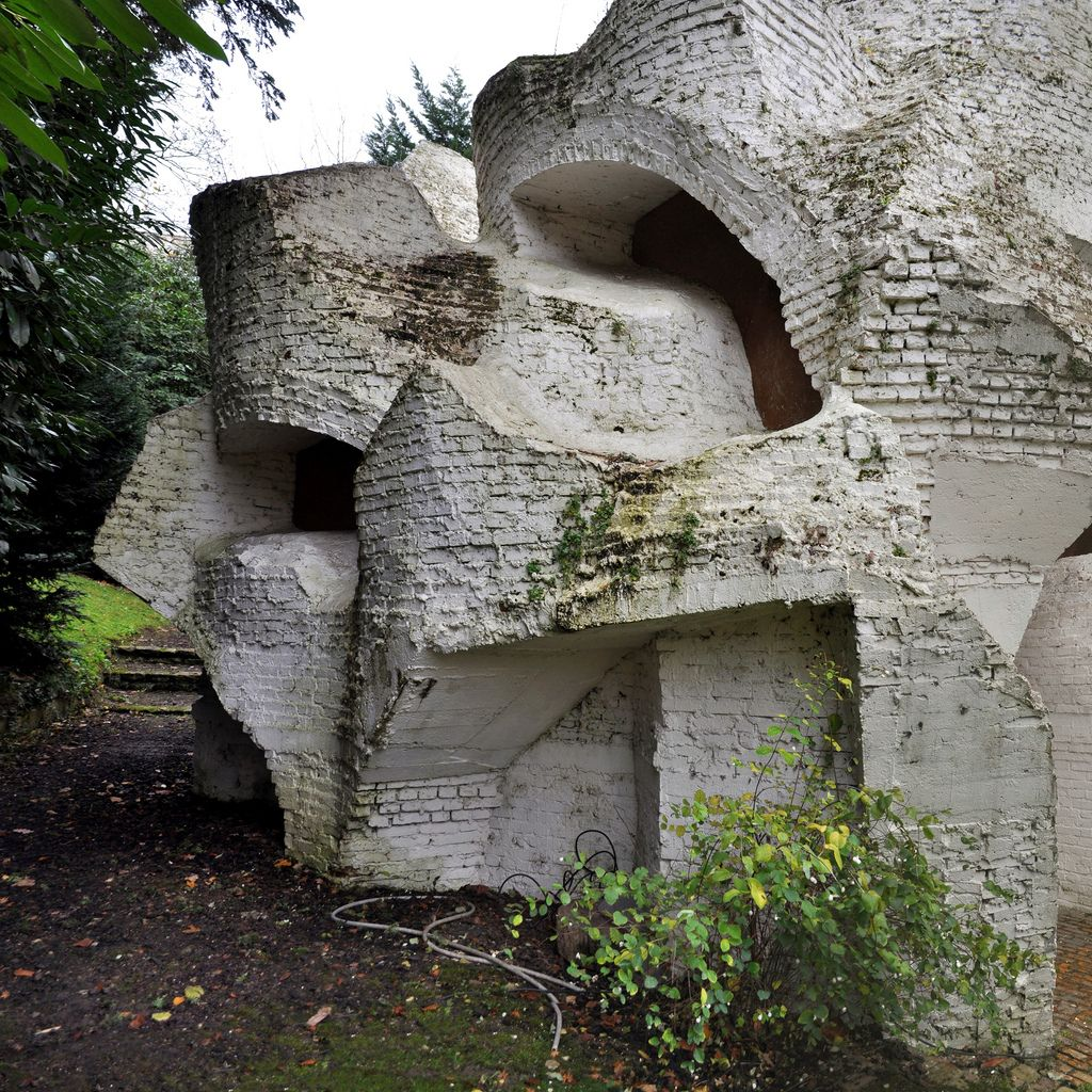 House on the rock flickr photo sharing - Andr Bloc Sculpture Habitacle 2 Meudon Paris France 1964 Flickr