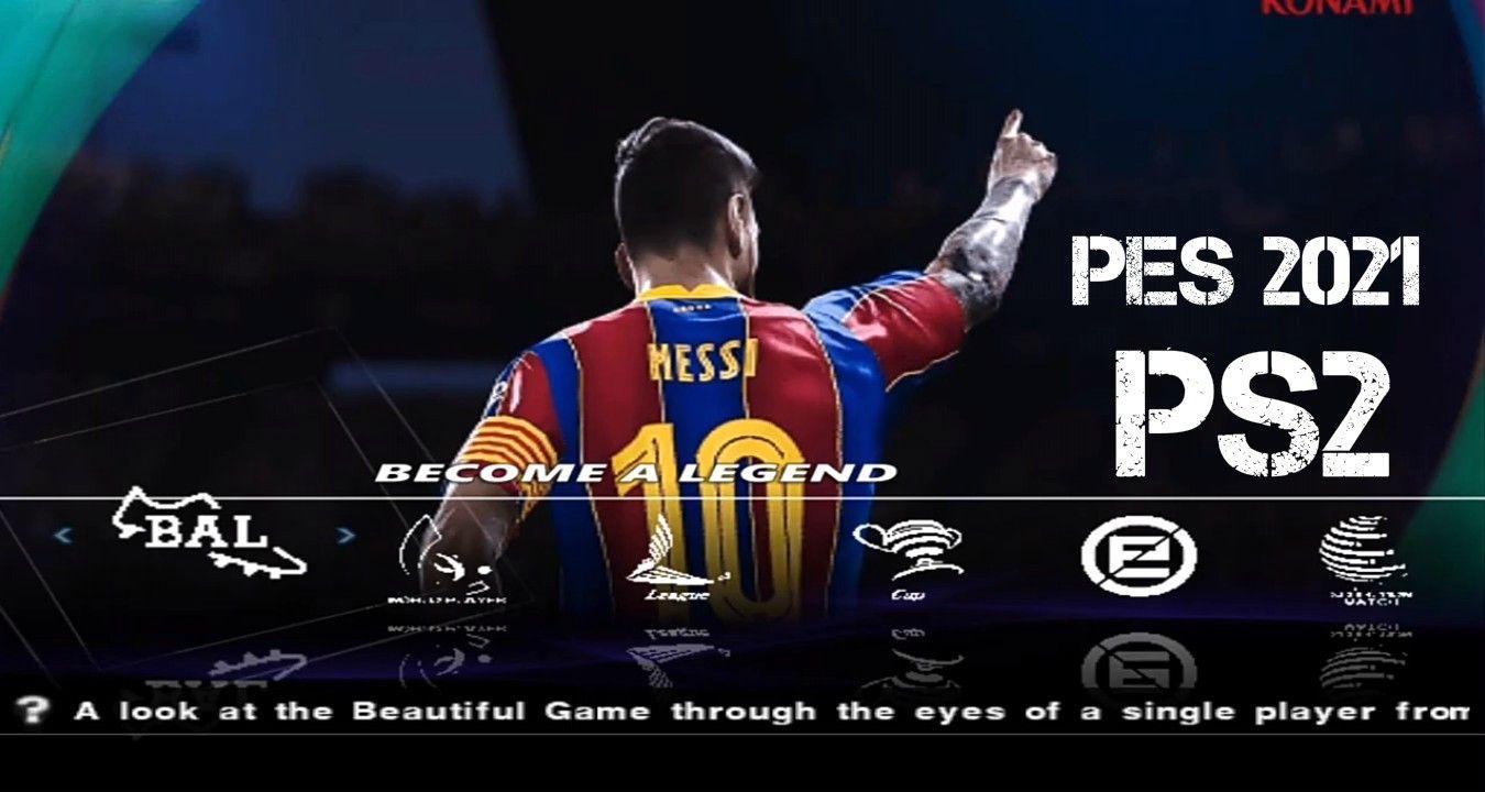 PES 2021 PS2 ISO File Download (Playstation 2) Pesgames