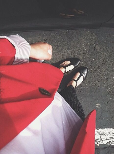 Classy outfit. Red blazer- old navy White shirt- Downeast Pixie pants- old navy Shoes- DSW