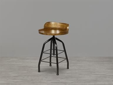 House And Contract Austin Tufted Bar Stool In Olive Velvet