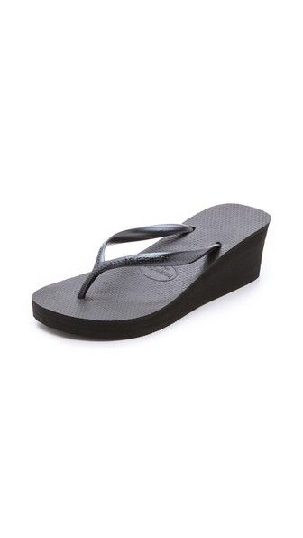 709f98448336f1 HAVAIANAS High Fashion Wedge Flip Flops.  havaianas  shoes  sandals ...