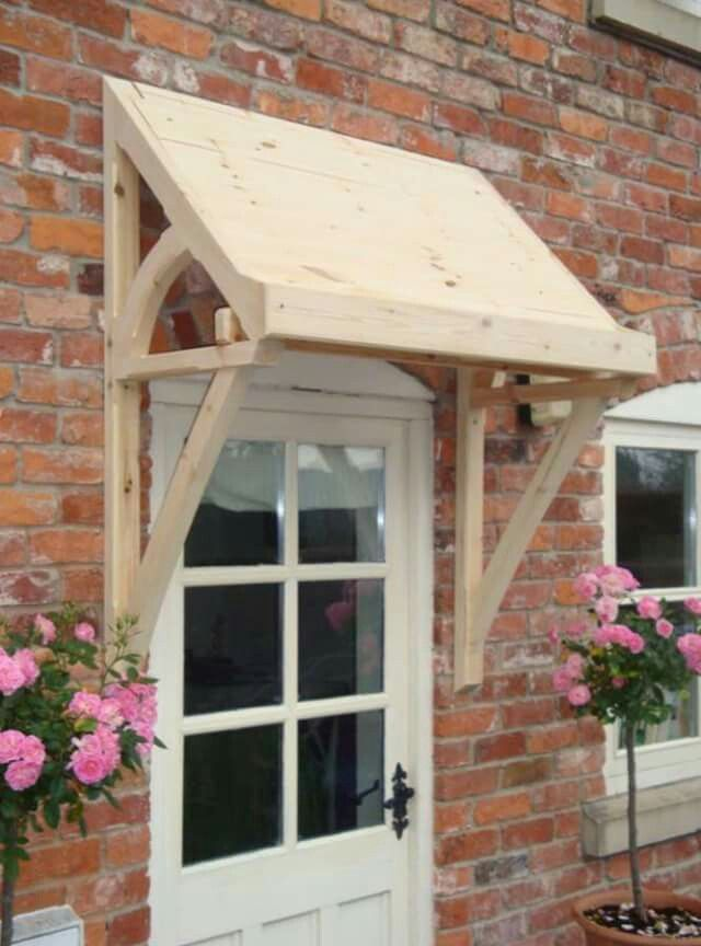 Pin By Leslie Nelson On Alpendres Timber Front Door Door Canopy Porch Front Door Canopy