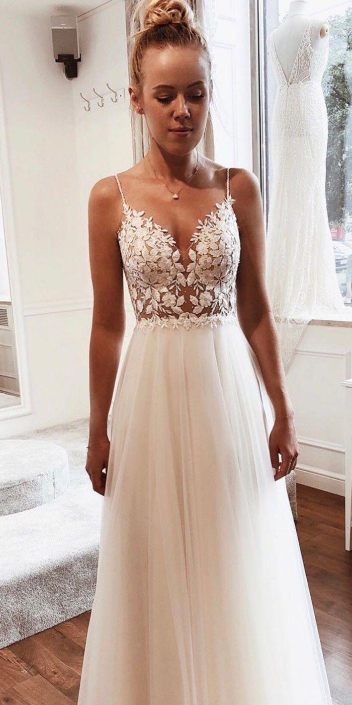 55 Lace Wedding Dresses From Tomsebastien Official Page 2 Of 6 Love Bling Wedding Dresses Wedding Dresses Lace Mismatched Blush Bridesmaid Dresses [ 1400 x 700 Pixel ]