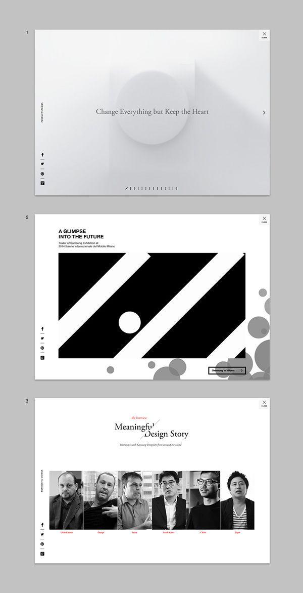 design.samsung.com on Web Design Served