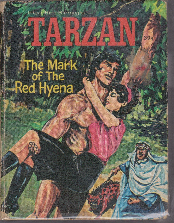 Tarzan The Mark Of The Red Hyena Little Big Book Tarzan Book Tarzan Little Books