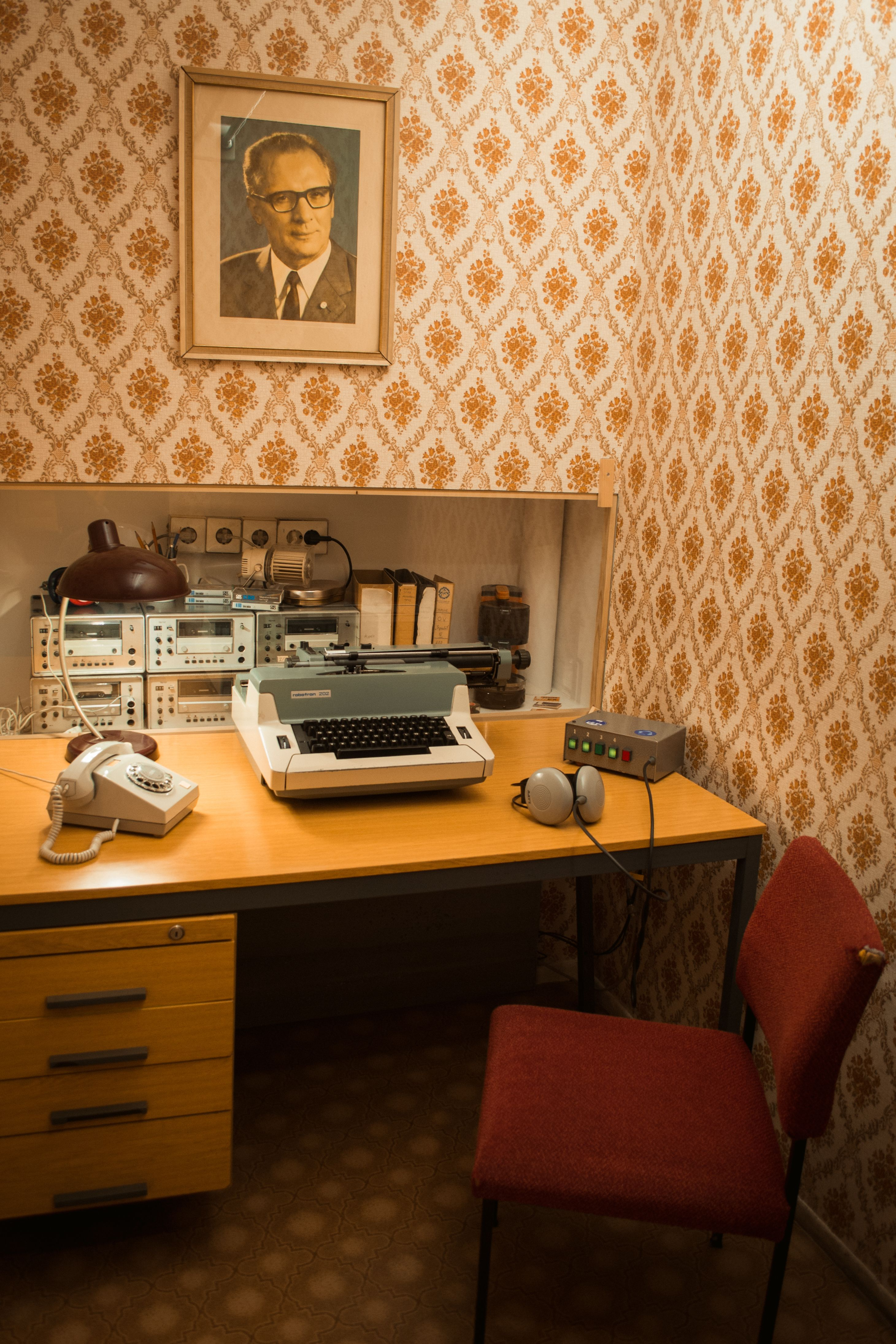 The Stasi Ddr Museum In Berlin Retro Interior Vintage House Movie Color Palette