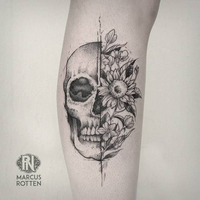 60 Best Skull Tattoo Designs And Ideas Tattoos Pinterest