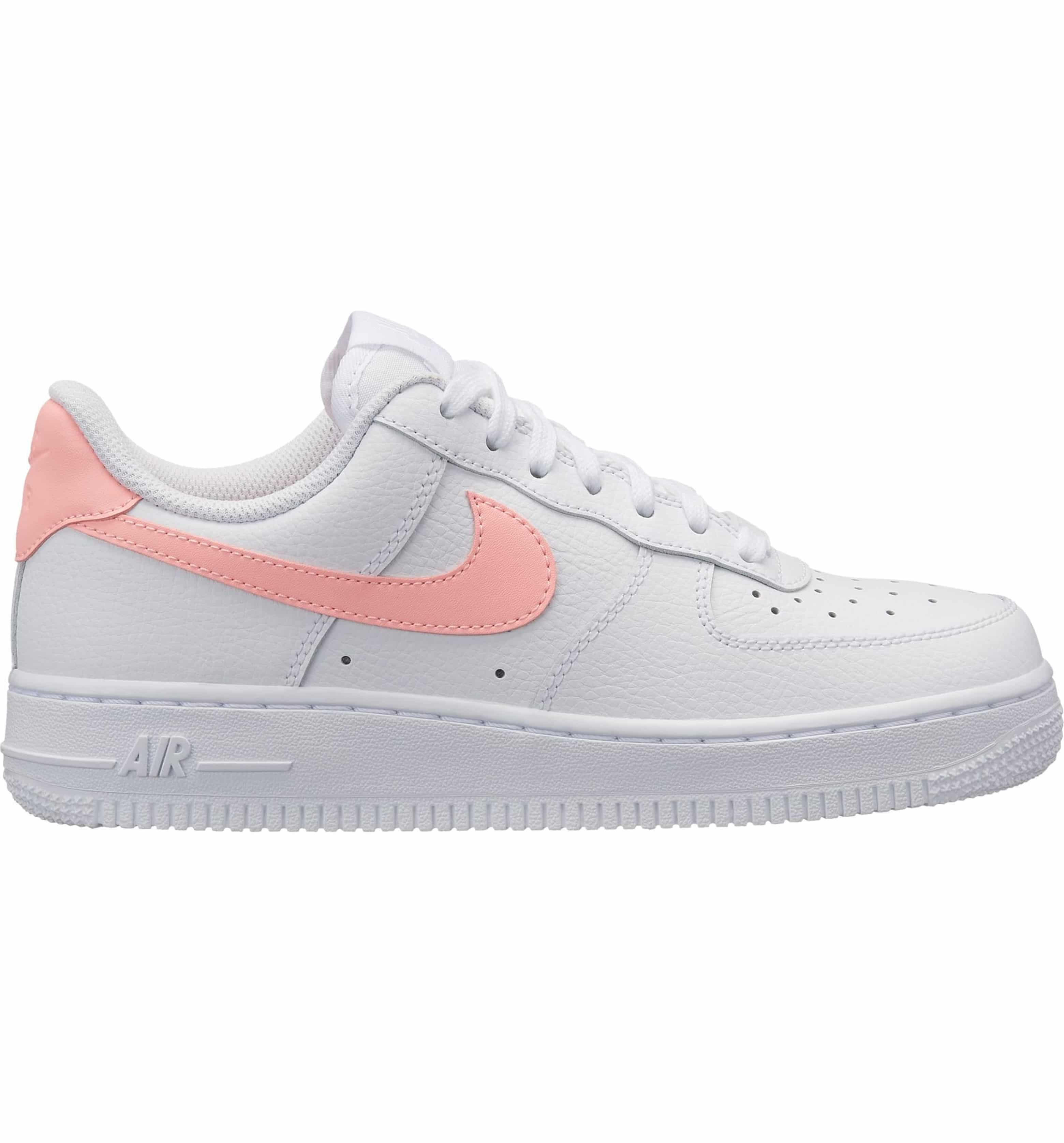 625bf88f88fe4 Air Force 1 '07 Sneaker, Main, color, WHITE/ ORACLE PINK-WHITE ...