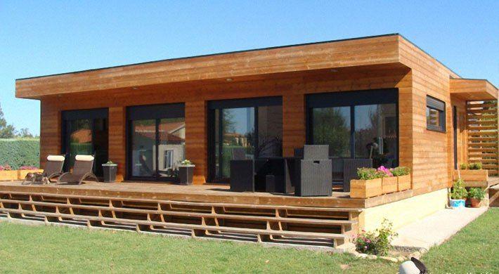 Casas prefabricadas de madera planos de casas en 2019 - Casa ecologicas prefabricadas ...
