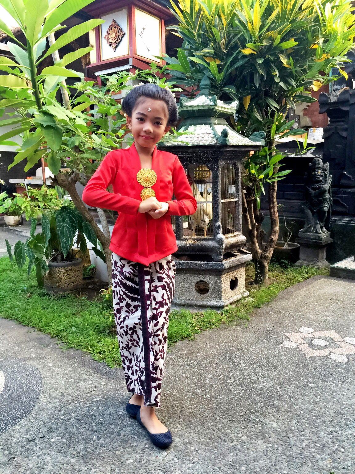 Kebaya Kartini Kartini Cilik Sanggul Balinese Kebaya In 2019