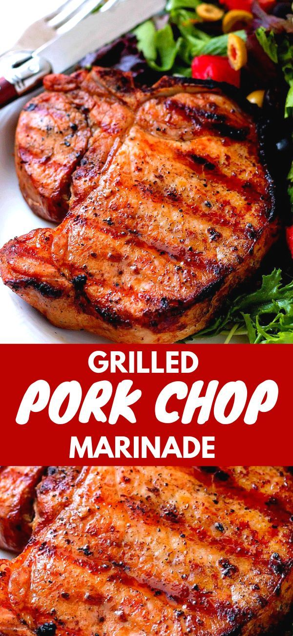 Grilled Pork Chop Marinade - Bunny's Warm Oven