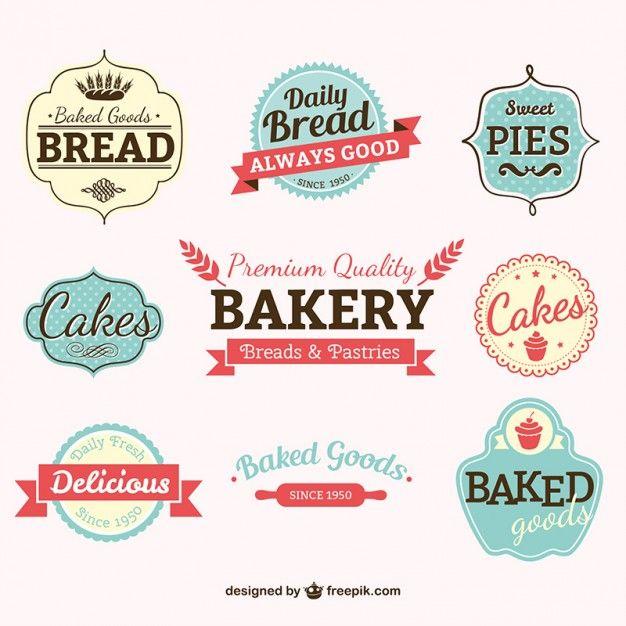 Etiquetas da padaria do vintage bakeries logos and bakery logo etiquetas da padaria do vintage pronofoot35fo Choice Image