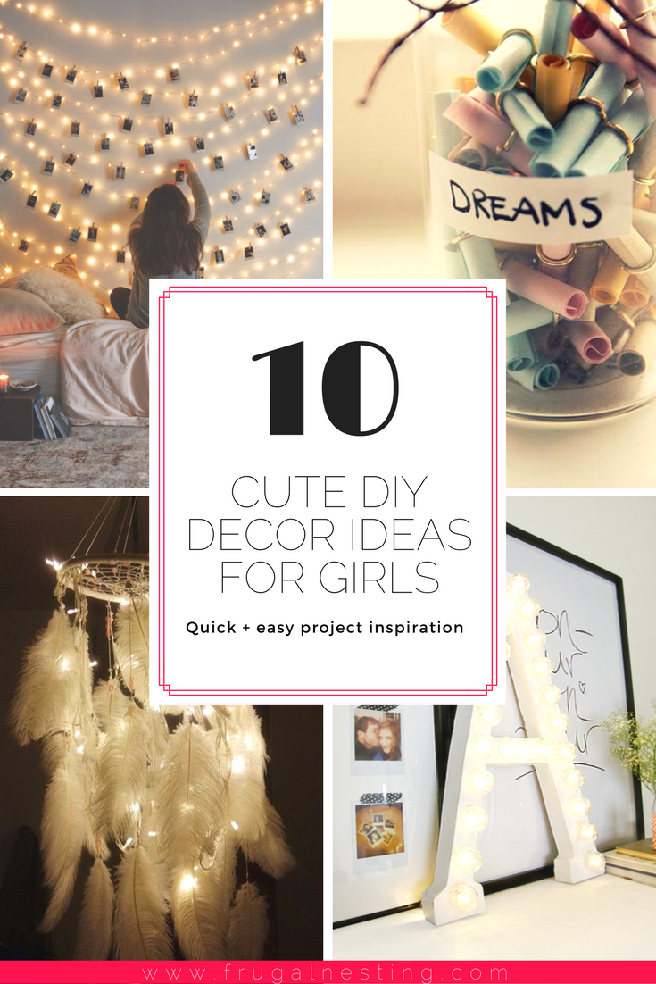 Diy Girls Room Decor Project Inspiration Easy Diy Room Decor