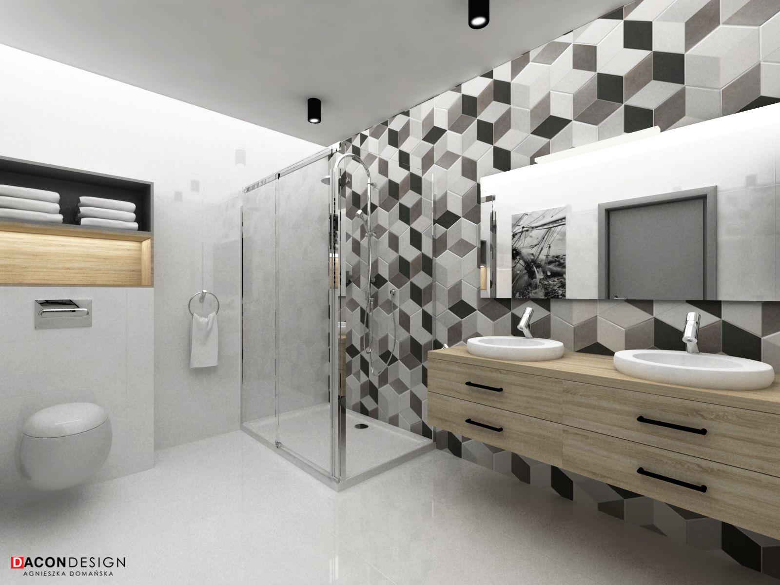 Dacon Design Wnetrza Architekt Wroclaw Projekt Lazienki