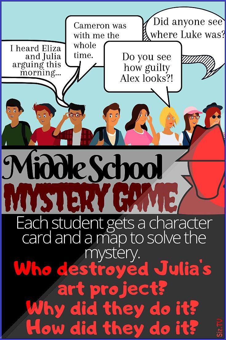 School Classroom Mystery Middle School Classroom Mystery Juliet Campbell Juliet Campbell Your stude